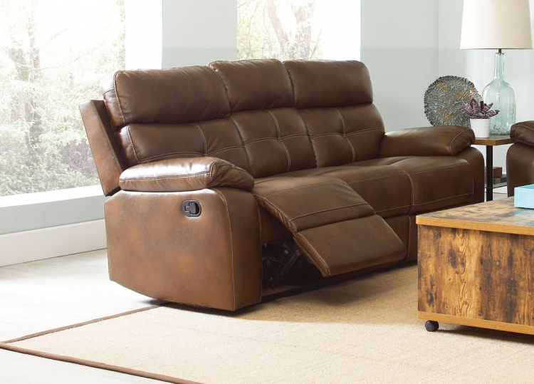 Damiano Motion Sofa - Brown