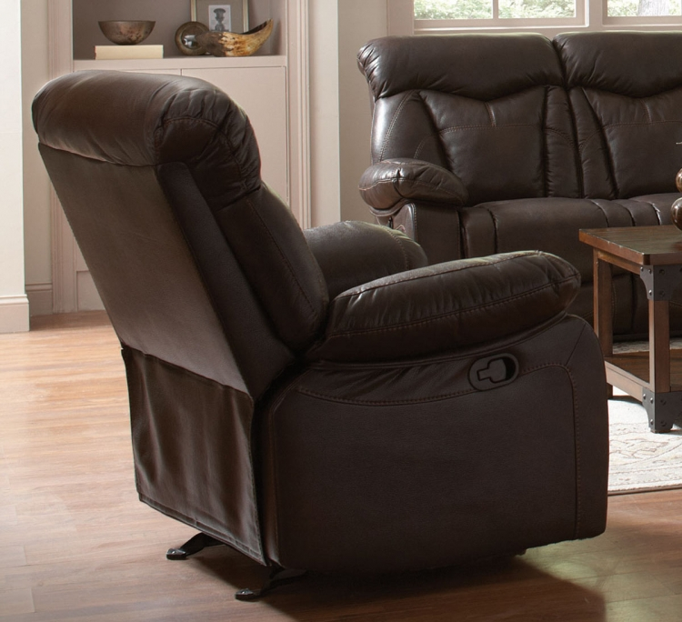 Zimmerman Motion Recliner - Dark Brown