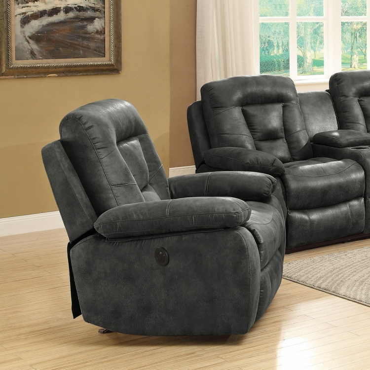 Evensky Power Recliner - Charcoal