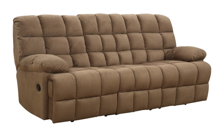 Pickett Reclining Sofa - Mocha