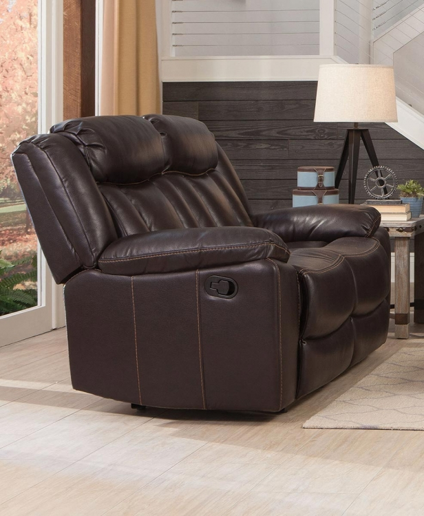 Bevington Motion Loveseat - Chocolate