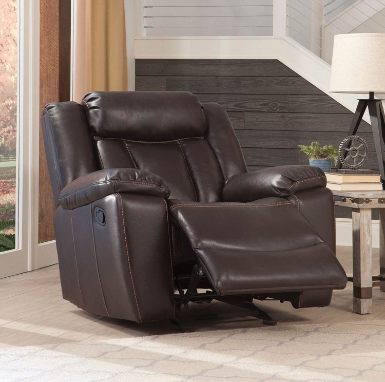 Bevington Glider Recliner - Chocolate