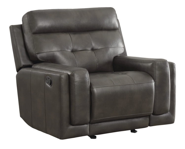 Trenton Motion Glider Recliner - Dark Grey