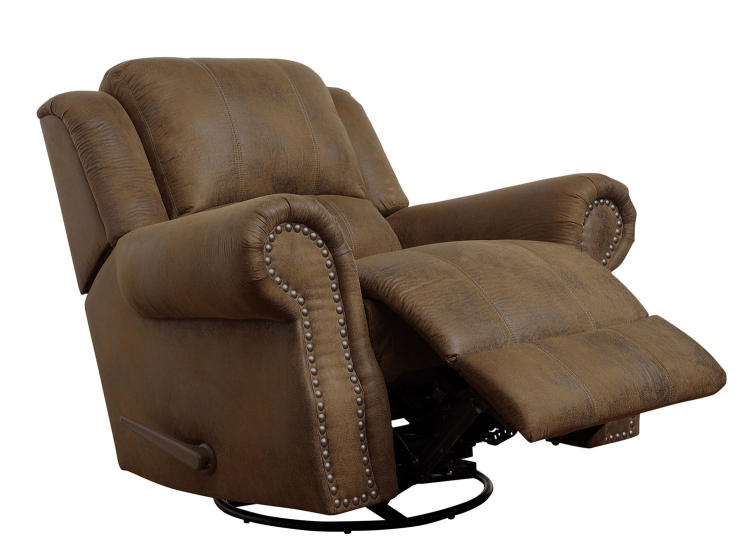 Sir Rawlinson Motion Rocker Recliner - Brown