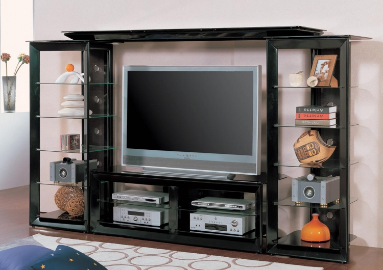 700163 Entertainment Wall Unit - Coaster
