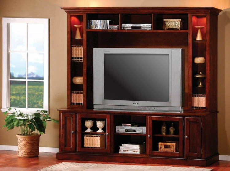 700231 Entertainment Wall Unit