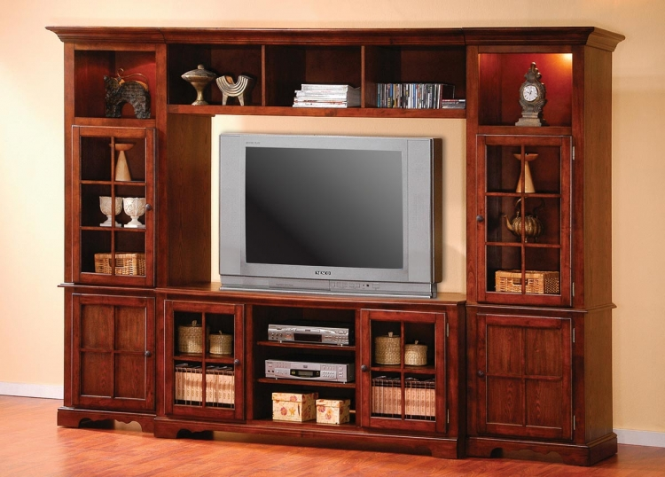 700241 Entertainment Wall Unit - Coaster