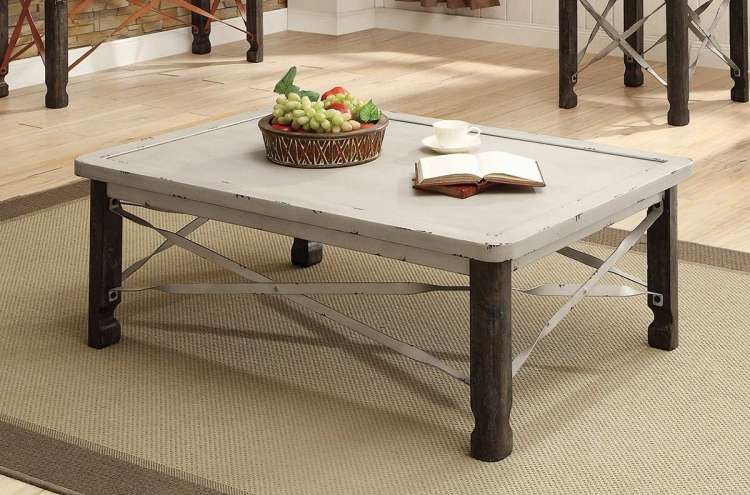 700495 Coffee Table - Antique White