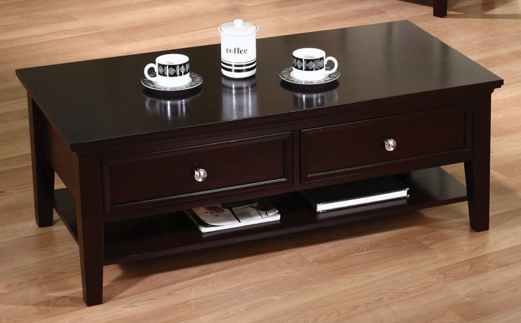 700738 Coffee Table - Cappuccino