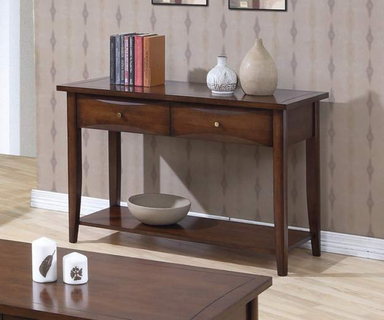 Whitehall Sofa Table - Walnut - Coaster