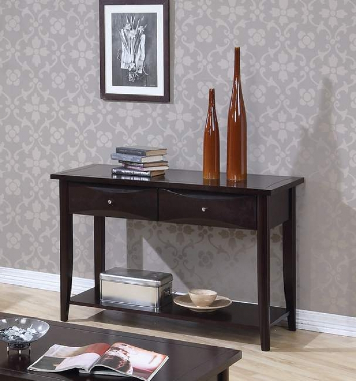 Whitehall Sofa Table - Cappuccino