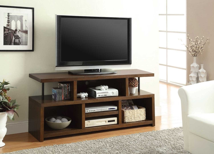 701374 TV Console - Brown