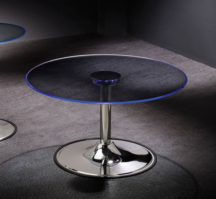 701498 LED Coffee Table - Chrome