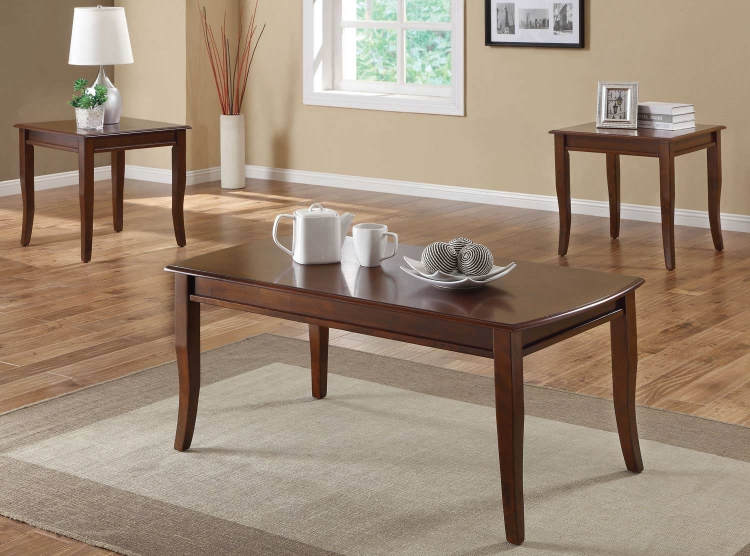 701603 3 Pack Coffee Table Set - Cherry
