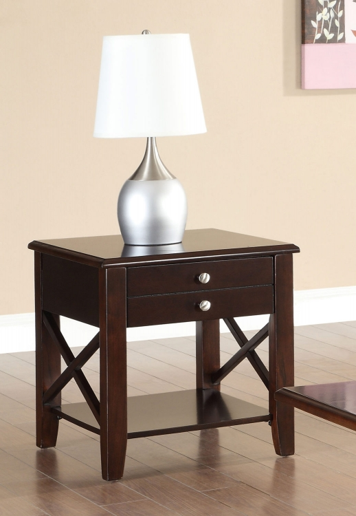 701857 End Table - Cherry