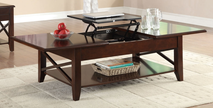 701858 Coffee Table - Cherry