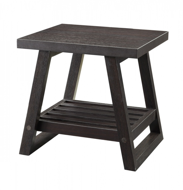 701867 End Table - Cappuccino