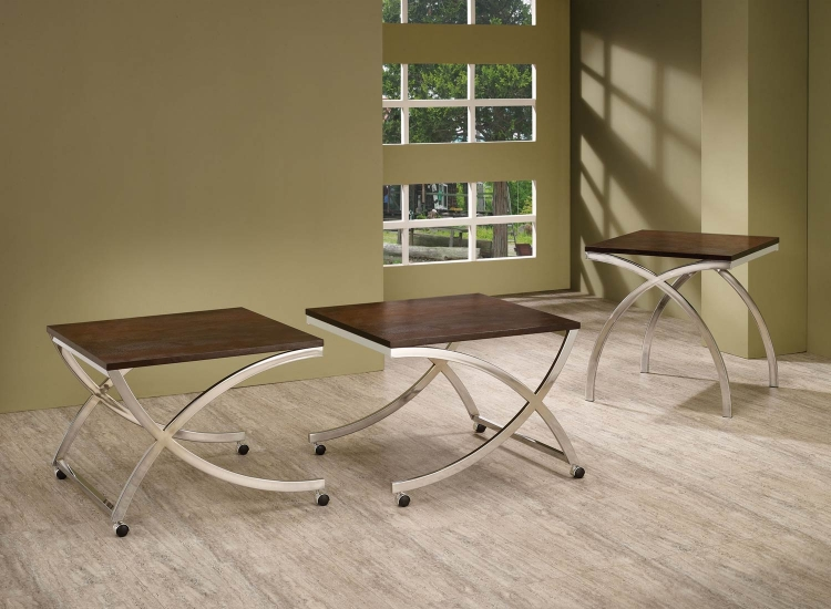 701908 Coffee Table Set - Cappuccino