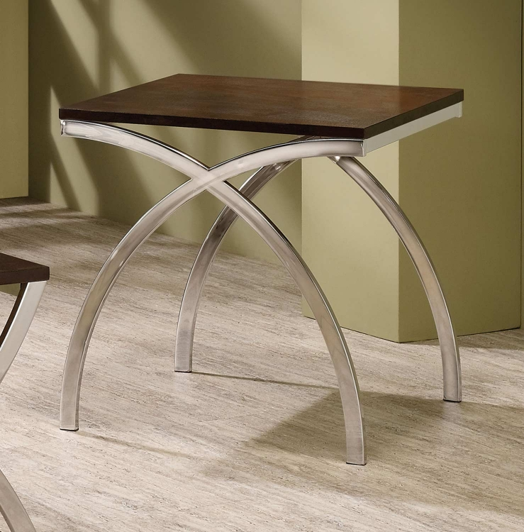 701907 End Table - Cappuccino
