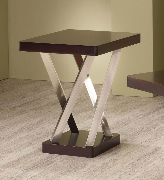 701927 End Table - Espresso