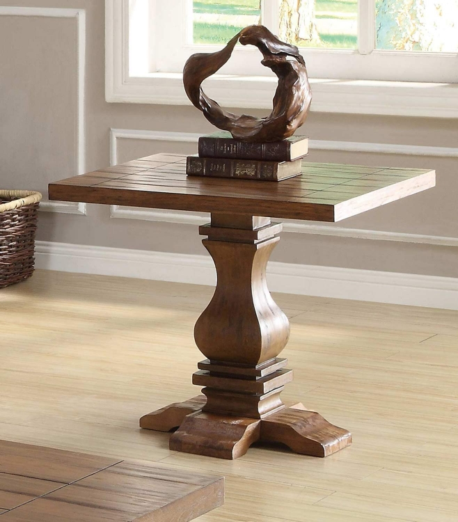 701947 End Table - Oak