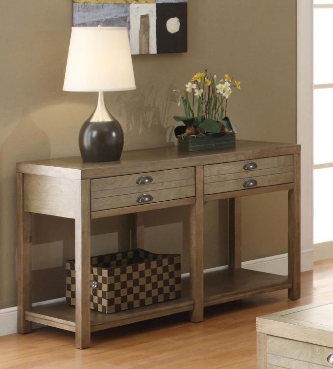 701959 Sofa Table - Light Oak