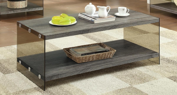 701968 Coffee Table - Weathered Grey
