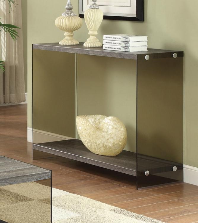 701969 Sofa Table - Weathered Grey