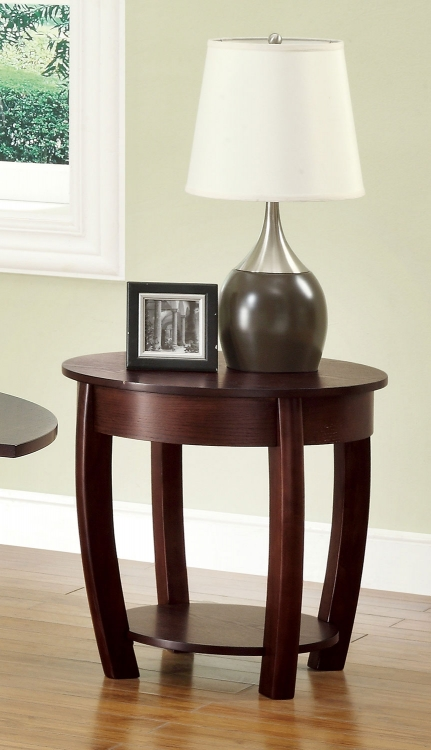 701977 End Table - Cappuccino