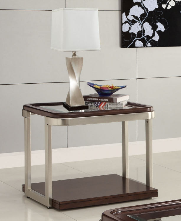 701997 End Table - Cappuccino