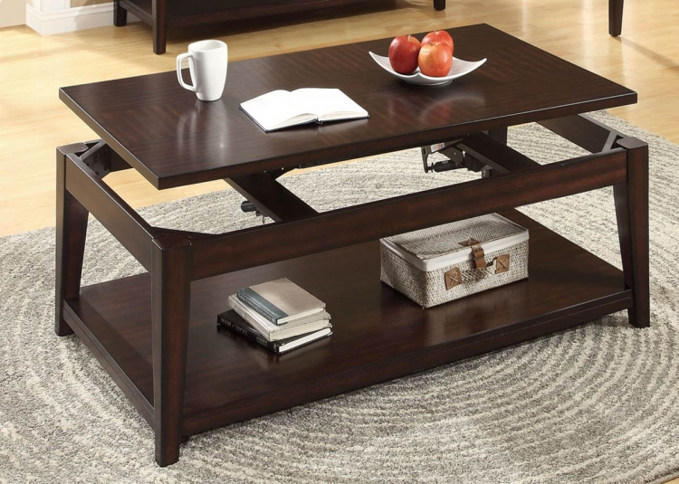 702098 Coffee Table - Mahogany