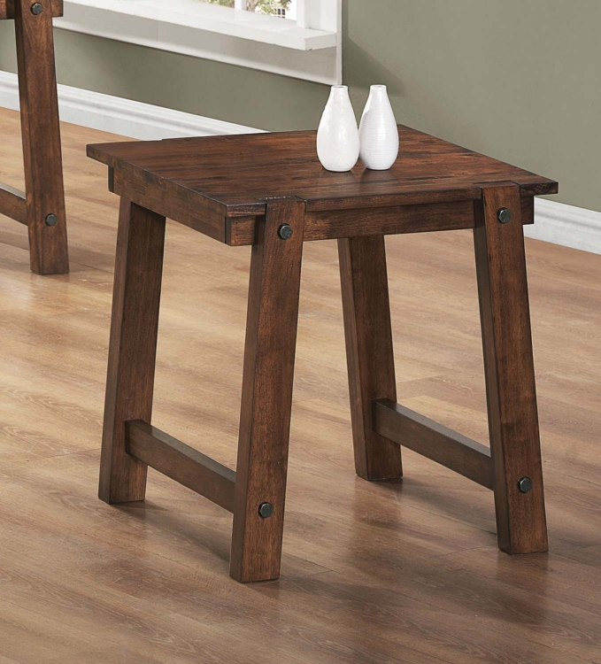 702107 End Table - Walnut
