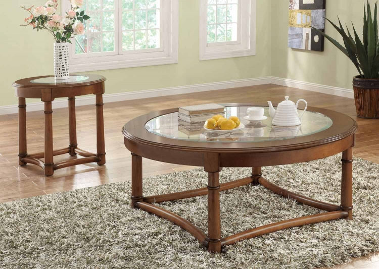 702118 Coffee Table Set - Cherry