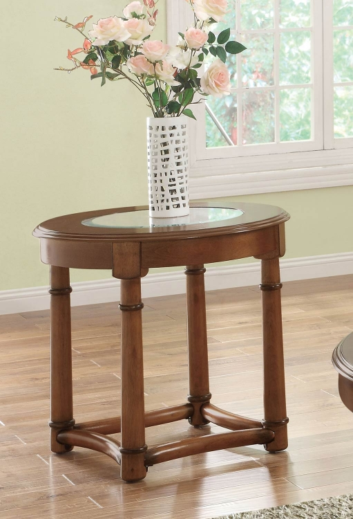 702117 End Table - Cherry