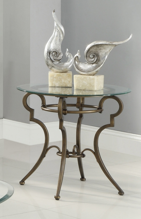 702197 End Table - Golden