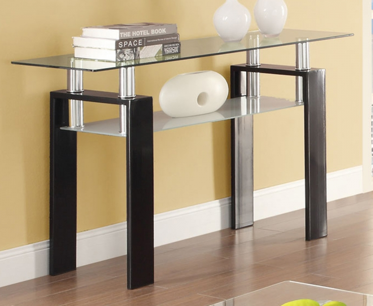 702289 Sofa Table - Black