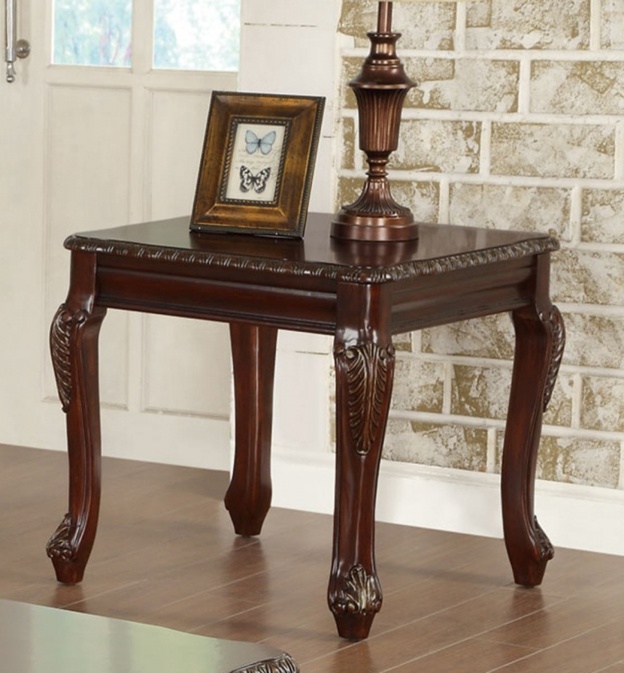 702297 End Table - Cherry