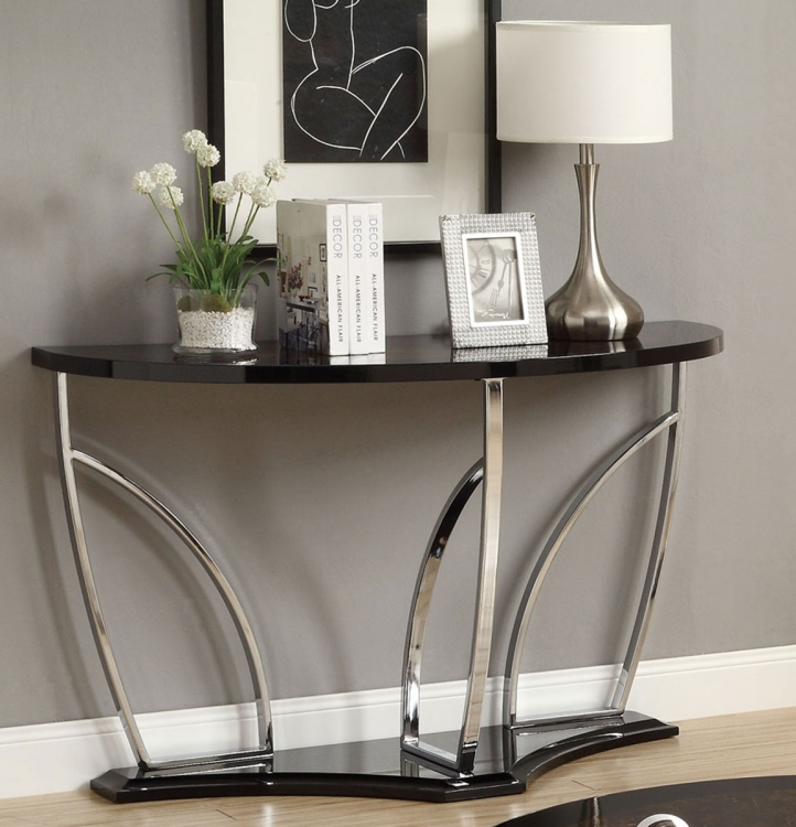 702329 Sofa Table - Brown/Black