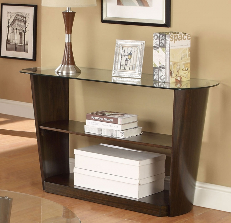 702349 Sofa Table - Dark Cherry