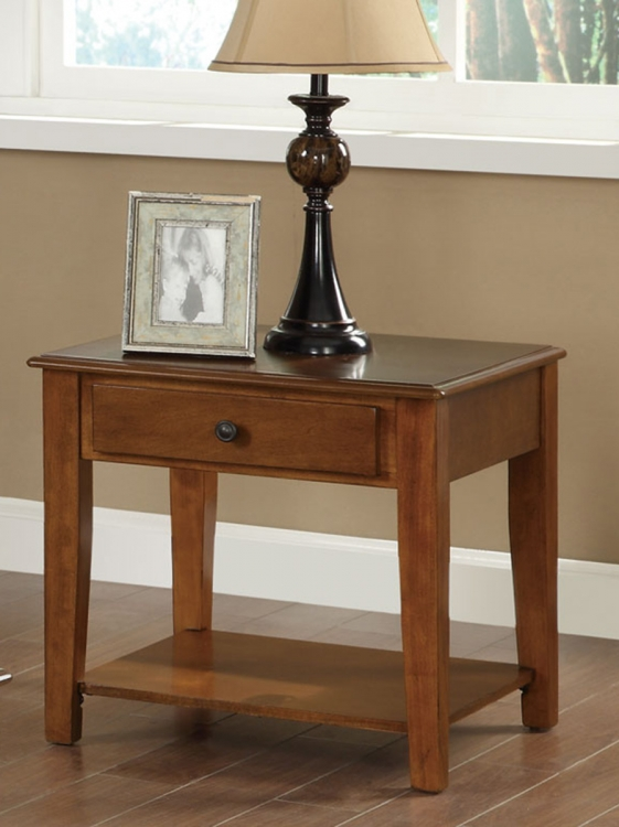 702387 End Table - Cherry