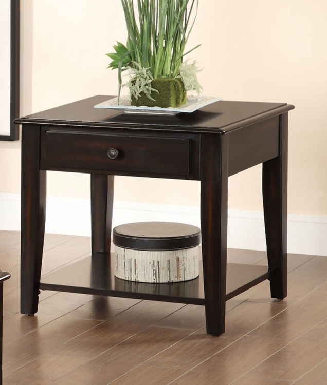 702397 End Table - Merlot