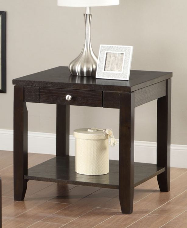 702497 End Table - Black