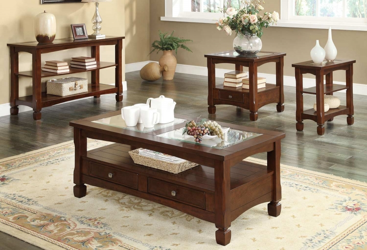 70252 Occasional Set - Walnut