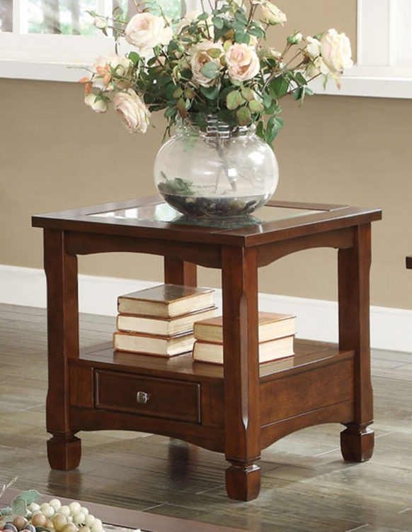 702527 End Table - Walnut