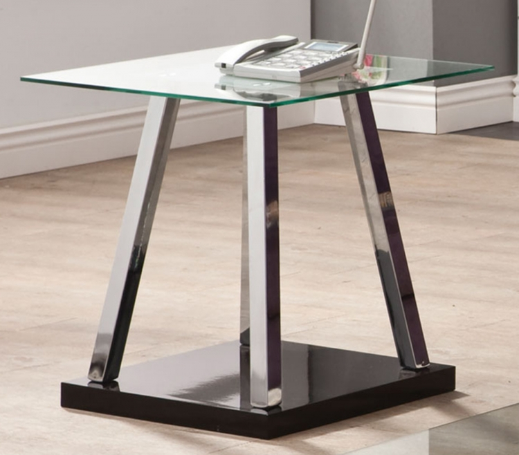 702577 End Table - Chrome
