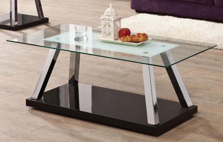 702578 Coffee Table - Chrome