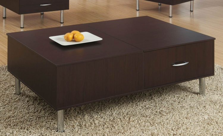 702728 Coffee Table - Cappuccino