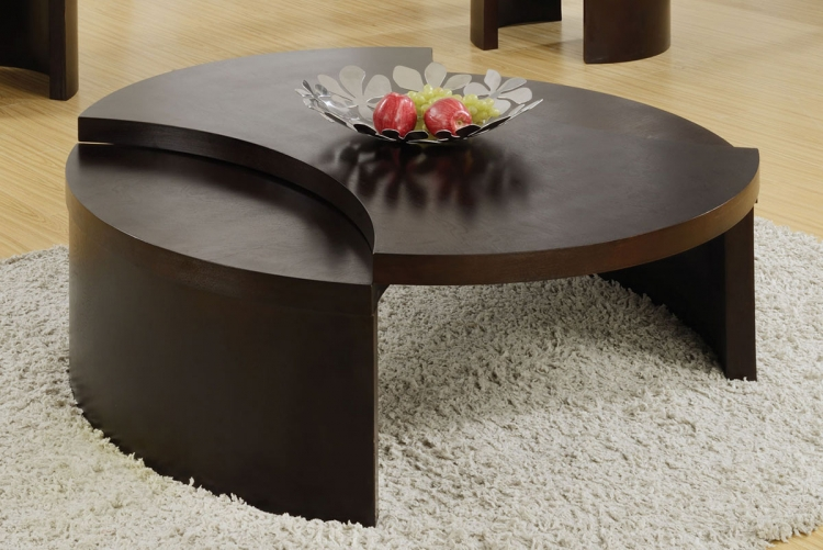 702738 Coffee Table - Cappuccino