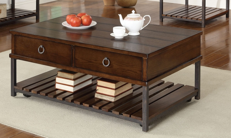 702808 Coffee Table - Dark Tobacco