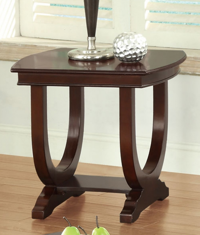 702817 End Table - Cappuccino